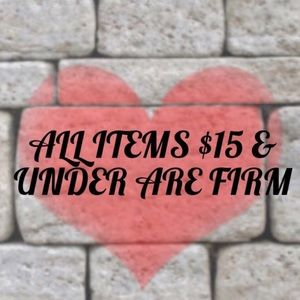 All items $10 or less - Price is FIRM! 💸🛍